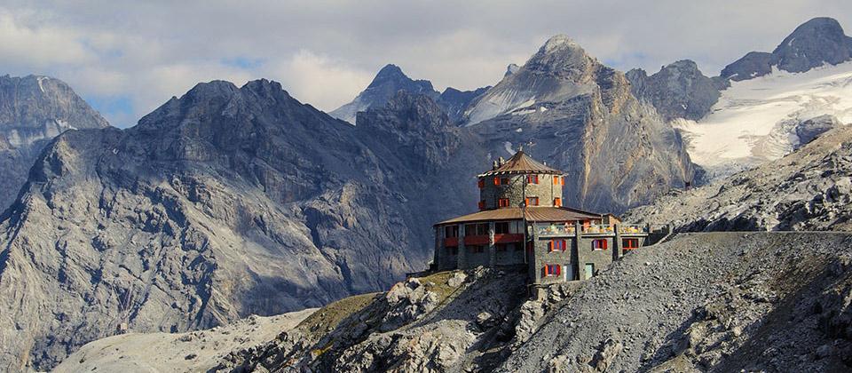 Die tibetanische Schutzhütte im Vinschgau am Stilfser Joch